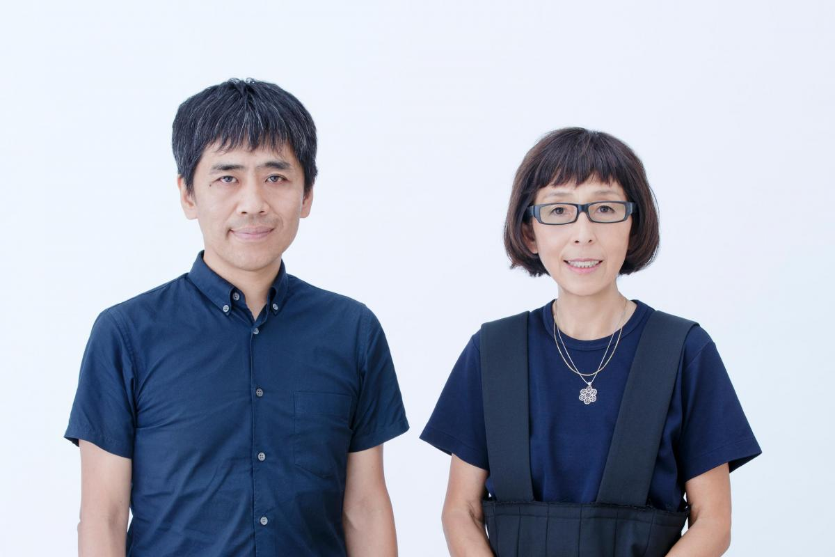 Portrait of Kazuyo Sejima and Ryue Nishizawa, the 2019 recipients of the Thomas Jefferson Foundation Medal in Architecture. Photo taken by Takashi Okamoto.