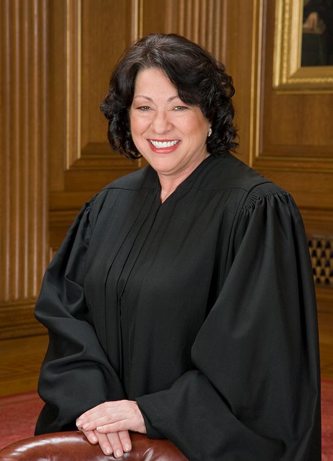 Portrait of Sonia Sotomayor