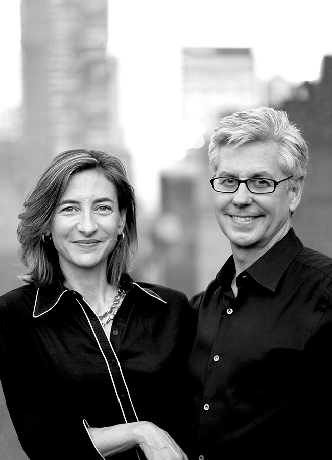 Portrait of Marion Weiss and Michael Manfredi